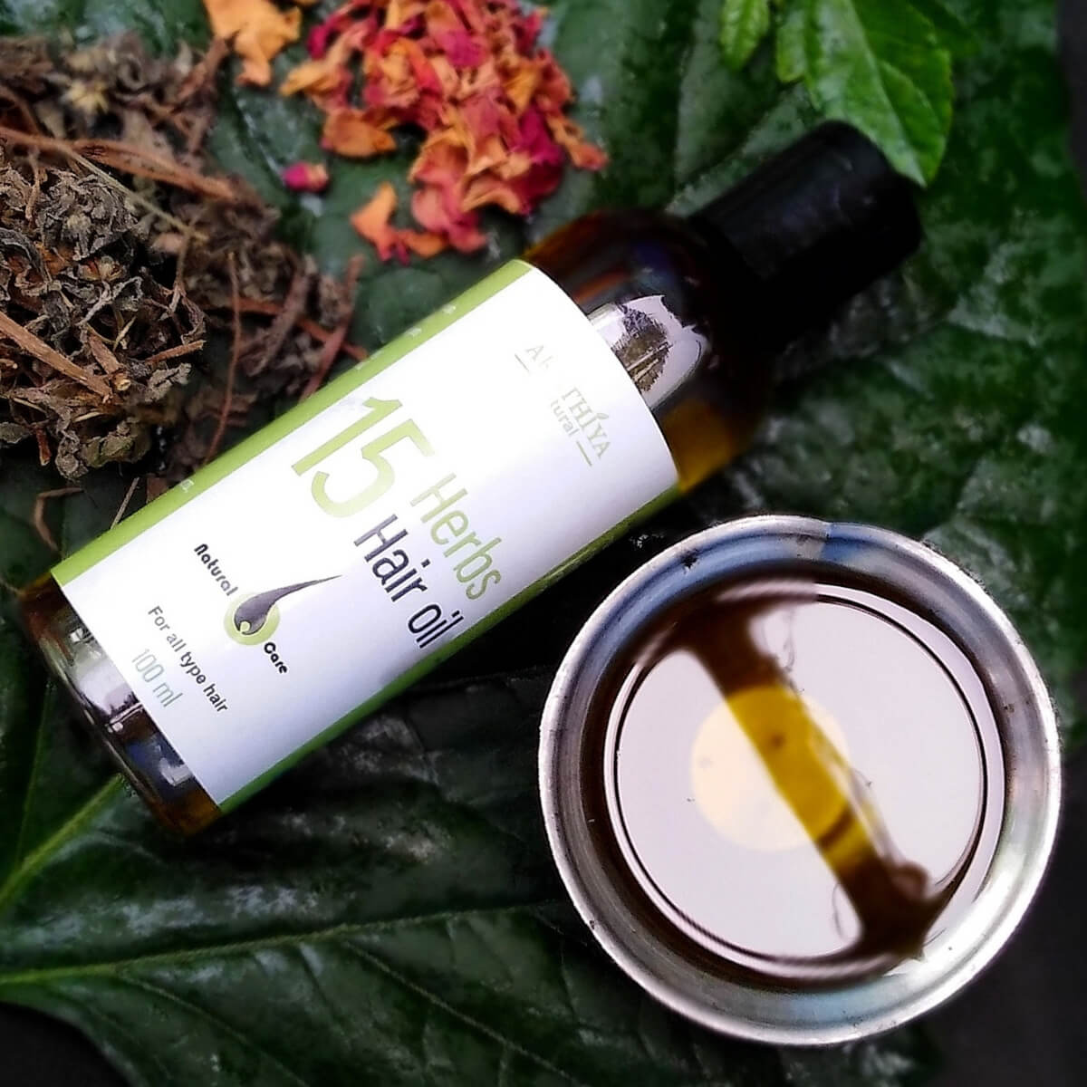 Buy Akathiya Naturals 15 Herbs Hair Oil products online in