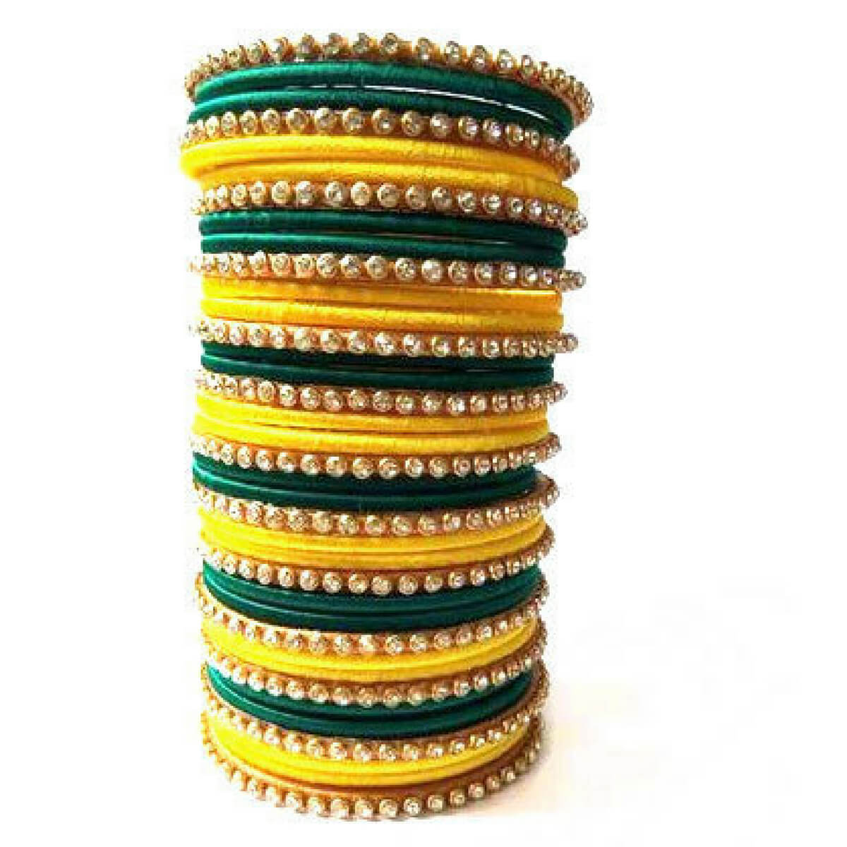 Buy Designer Silk Thread Bangle Products Online In India