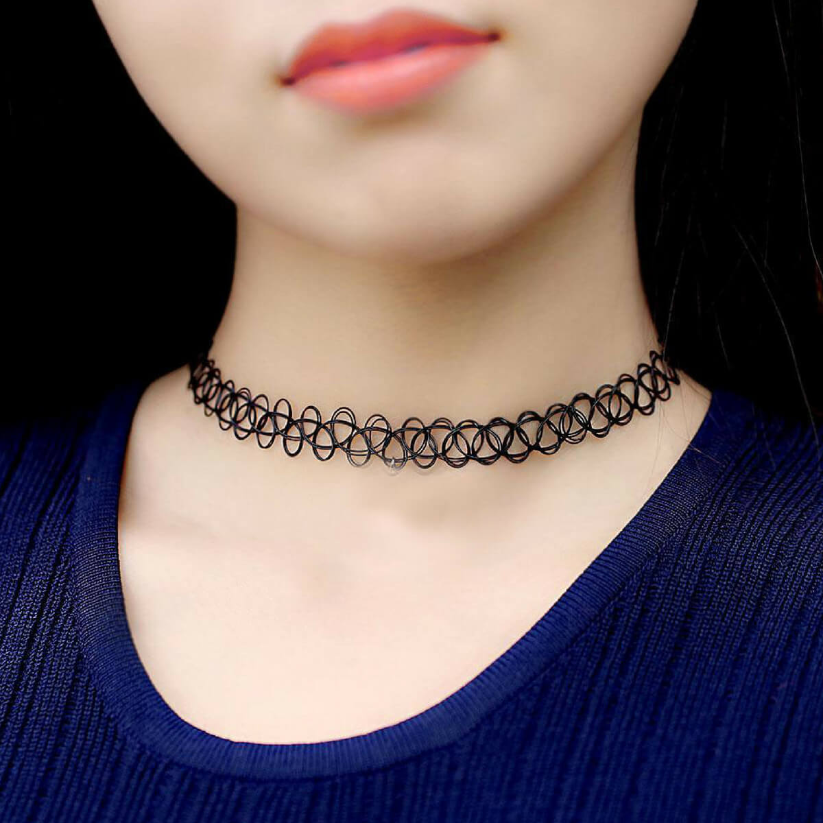 Buy Tattoo Necklace For Women Pack Of 3 Products Online