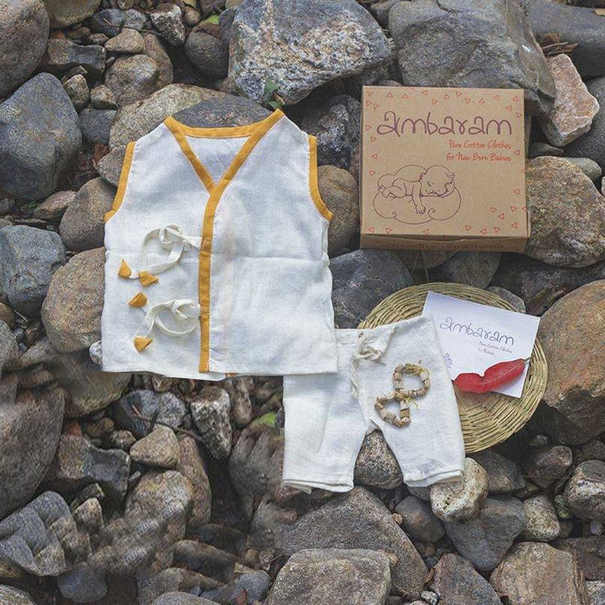 Buy Pure Cotton Clothes And Accessories Combo Box4 For Babies 6 12