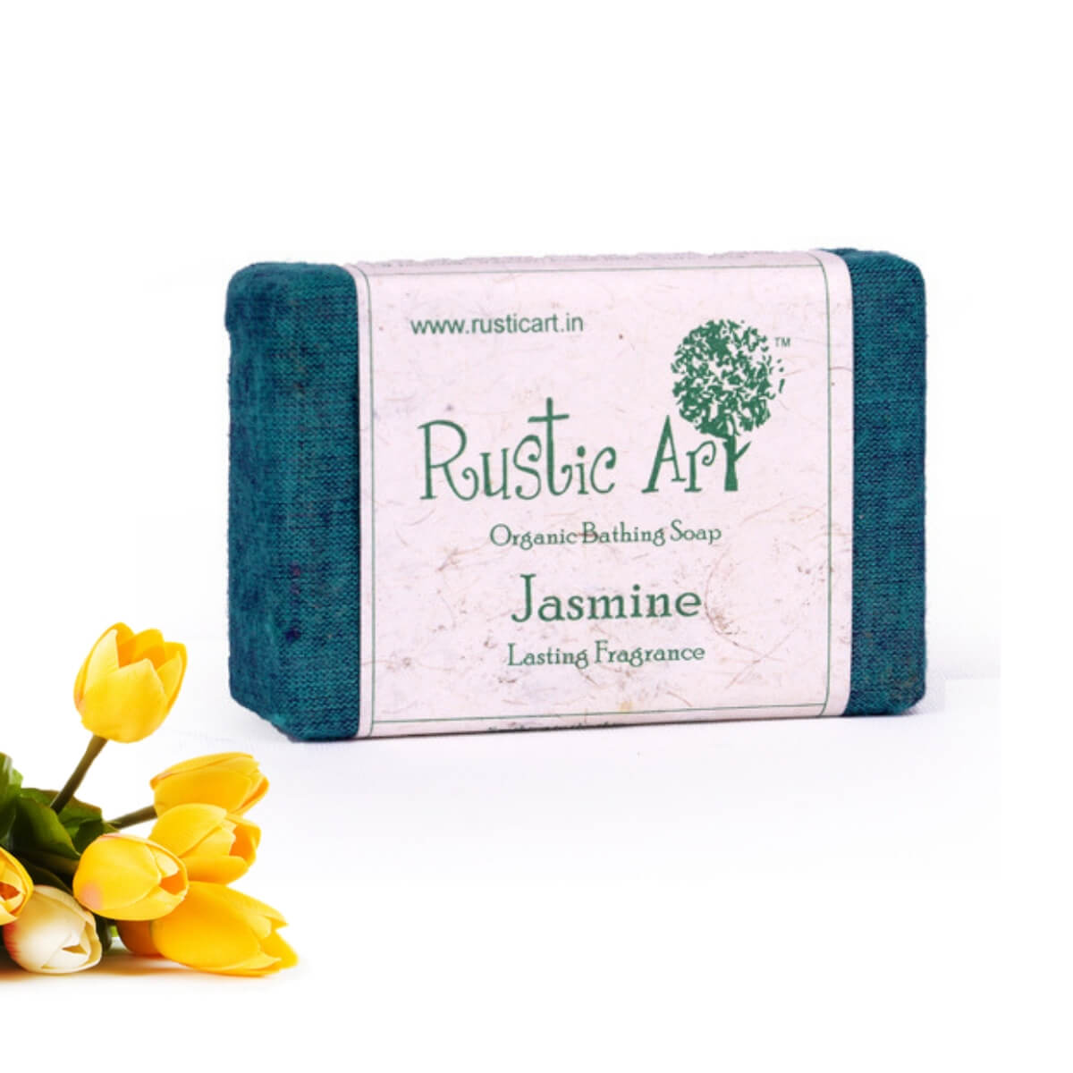 Buy Rustic Art Organic Jasmine Soap products online in India